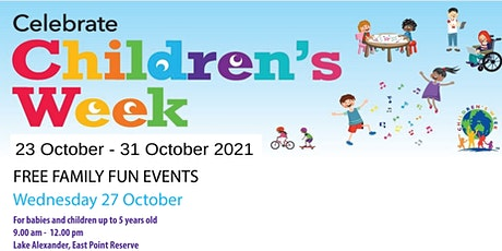 Children's Week FREE FAMILY FUN EVENT For babies and children up to 5 years tickets