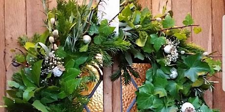 Gardening Lady Christmas Wreath Making Workshop 8 tickets
