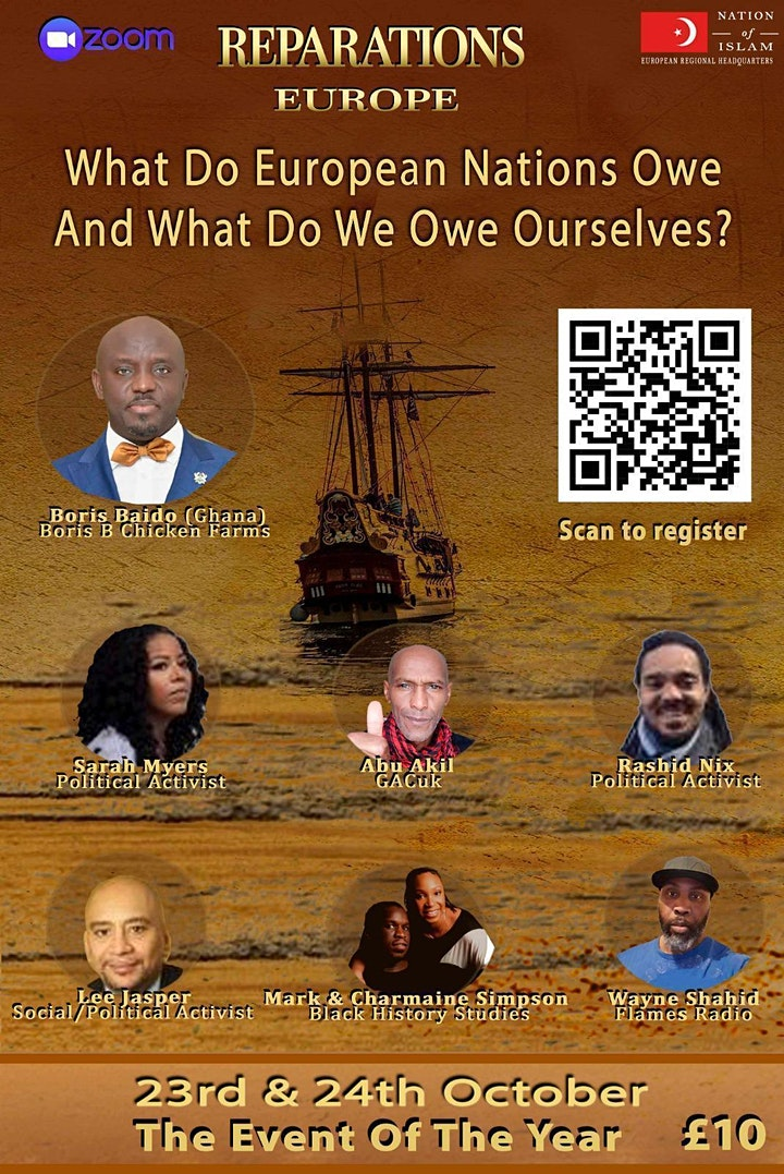 REPARATIONS - WHAT DO EUROPEAN NATIONS OWE AND WHAT DO WE OWE OURSELVES? image