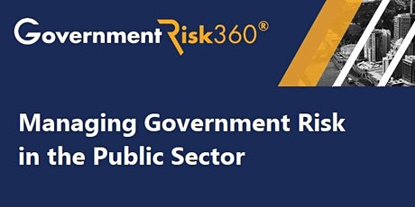 Managing Government Risk in the Public Sector tickets