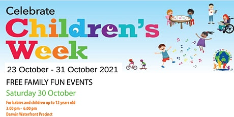 Children's Week FREE FAMILY FUN EVENT For babies and children up to12 years tickets