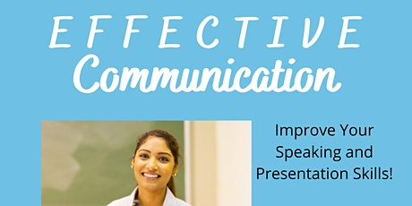Effective Communication - Public Speaking for Ages 12-18 (4 classes) tickets