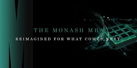 The Monash MBA - Meet the Director  Online (Domestic students only) tickets