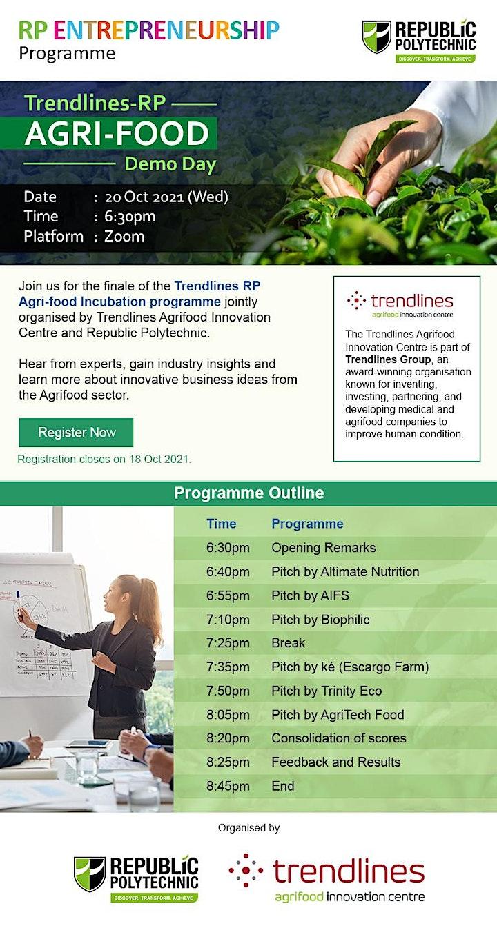 Trendlines - RP Agrifood Innovation Programme Demo Day image
