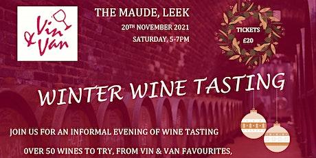 Vin & Van's Winter Wine Tasting Evening tickets
