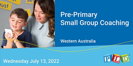 Pre-Primary Small Group Half Day Coaching July 2022 tickets