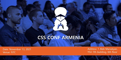 CSS Conf Armenia 2021 tickets