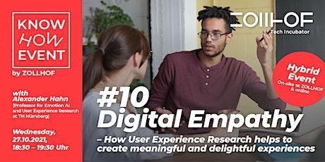 #10 Know-How Event - Hybrid Edition: Digital Empathy billets
