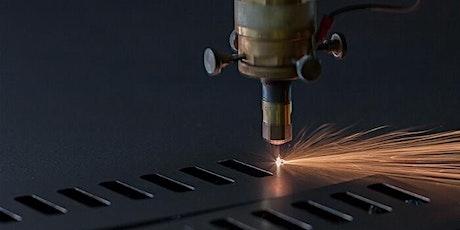 Mise en route découpeuse laser billets