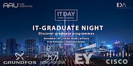 IT-Graduate Night with Novo Nordisk, Cisco, Grundfos & EY tickets