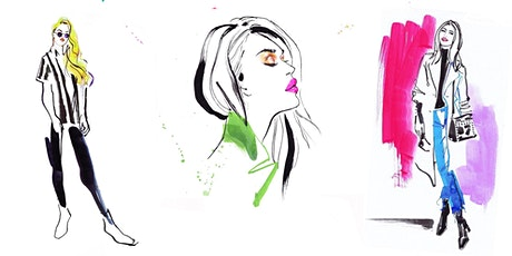 GOING LIVE - An EVENT ILLUSTRATION Masterclass with JACQUELINE BISSETT tickets