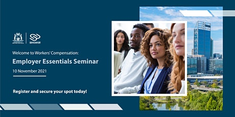 Welcome to Workers' Compensation - Employer Essentials tickets