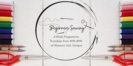 Beginners Sewing - 6 Week Workshop tickets