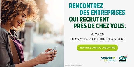 Job Dating à Caen : décrochez un emploi ! billets