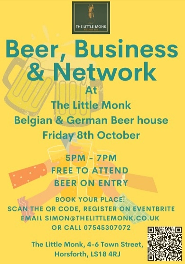 Beer and Business Social image