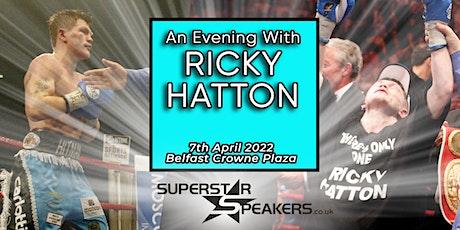 An Evening with Ricky Hatton - Belfast tickets