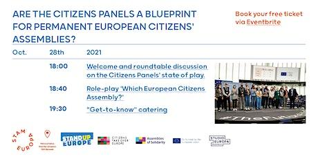 Citizens Panels a Blueprint for Permanent European Citizens' Assemblies? tickets