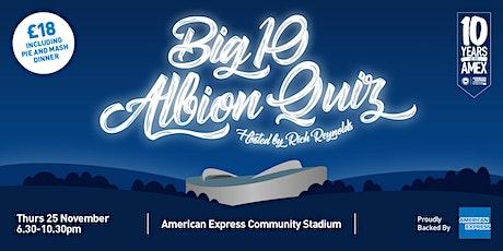 Big 10 Albion Quiz tickets