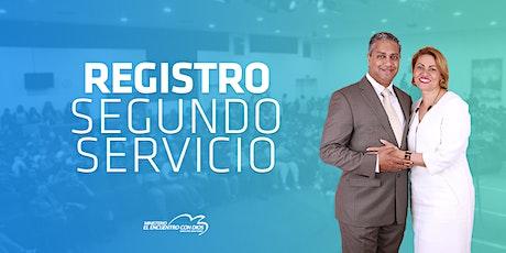 Segundo Servicio 11:30   Domingo 17 de Octubre 2021 entradas