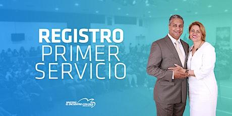 Primer  Servicio 09:00   Domingo 17 de Octubre 2021 entradas