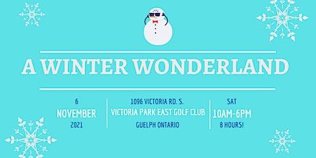 A WINTER WONDERLAND - INDOOR CHRISTMAS MARKET tickets