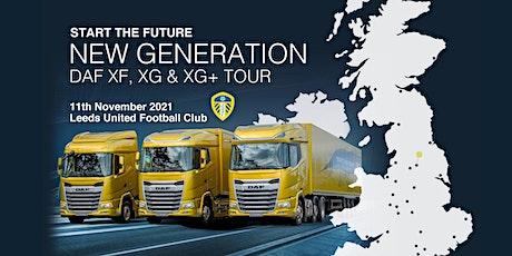 New Generation DAF XF, XG & XG+ Tour tickets