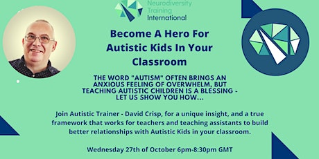 Become A Hero For Autistic Children In Your Classroom tickets