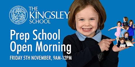 The Kingsley Prep School Open Morning tickets