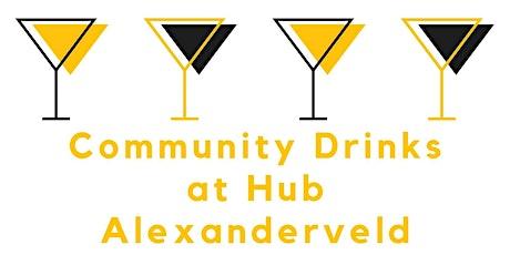 Community Drinks @ Hub Alexanderveld tickets