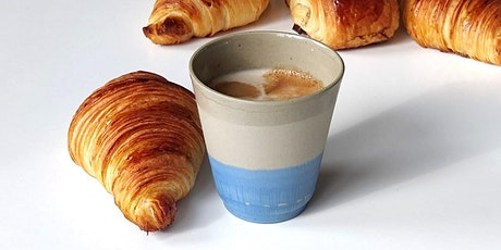 Le petit déjeuner: croissants on ceramics tickets