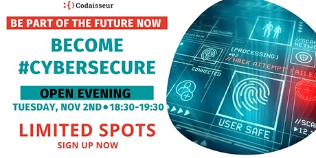 Become #CyberSecure - Open Evening tickets