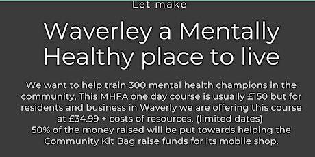 MHFA England Online Adult Mental Health Champion tickets