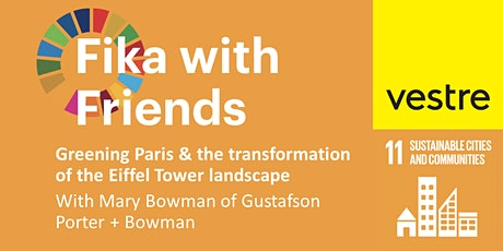 Fika with Friends  October 2021: SDG11 Sustainable Cities + Communities tickets