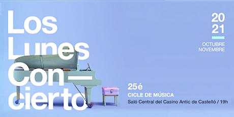 LOS LUNES CONCIERTO - ÓSCAR CAMPOS entradas
