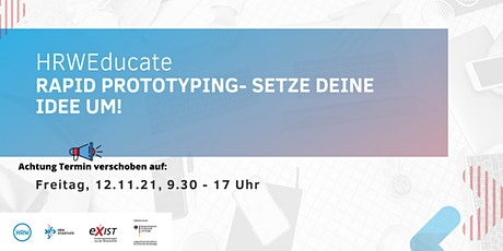 HRWEducate: Rapid Prototyping Tickets