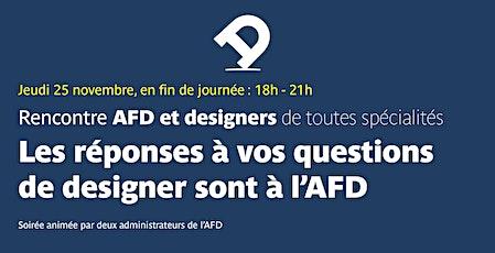 Rencontre entre designers et membres du CA de l'AFD billets