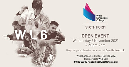 Sixth Form Open Event tickets