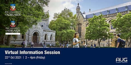 University of Adelaide & Adelaide College Virtual Info Session tickets