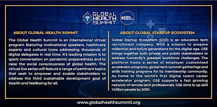 Global Health Summit 2021 (Virtual) image