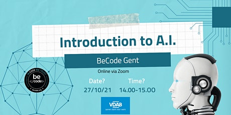BeCode Gent - Introduction to AI tickets