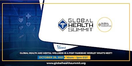 Global Health Summit 2021 (Virtual) tickets