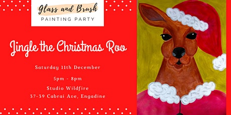 Glass and Brush Painting Party - Jingle the Christmas Roo tickets