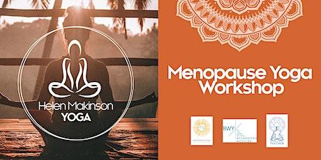 Menopause Yoga Workshop tickets