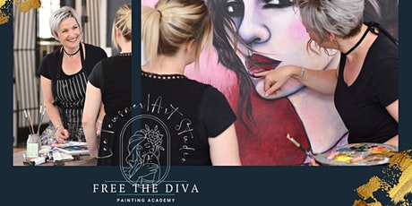 Free The Diva 3 Day Painting Immersion 4th - 6th December 21 tickets