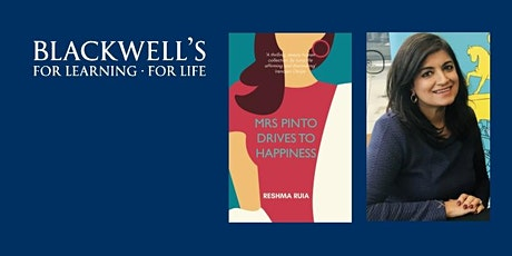 Reshma Ruia - MRS PINTO DRIVES TO HAPPINESS Book Launch tickets