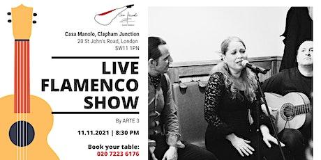 Live Flamenco Show   Clapham Junction tickets