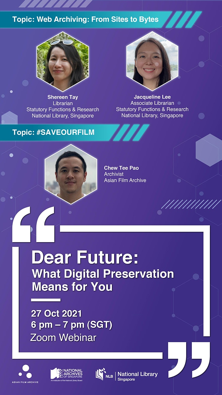 [Session 2] Dear Future: What Digital Preservation Means for You image