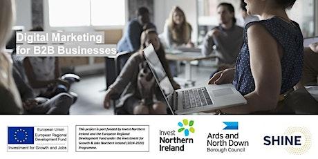 Digital Marketing for B2B Businesses - Shine Programme Workshop tickets