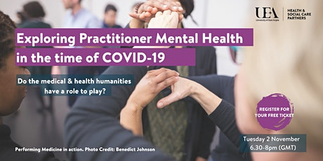 Exploring practitioner mental health in the time of COVID-19: tickets