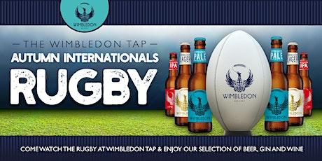 Autumn Internationals Rugby tickets